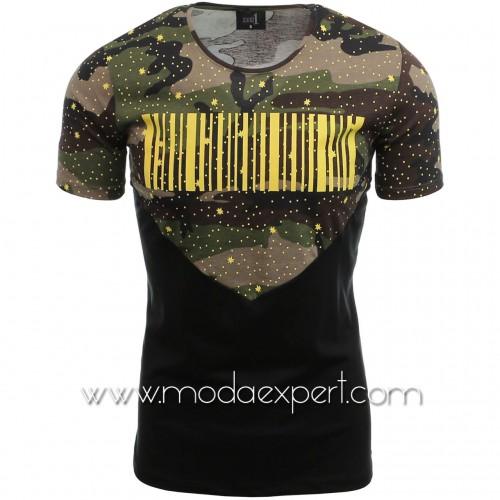 Мъжка камуфлажна тениска №14232