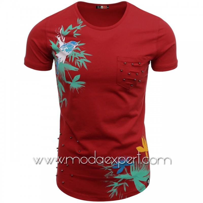 Мъжка тениска Parrot №14294-R