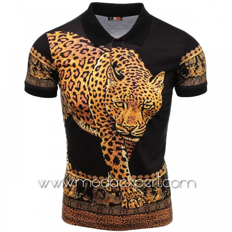 Мъжка тениска с яка №14400