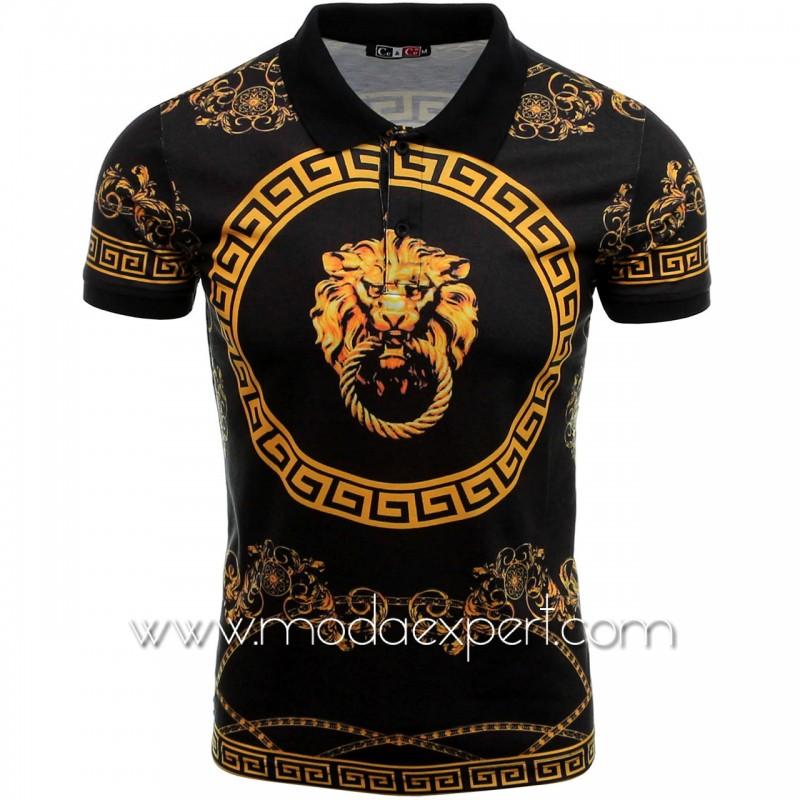 Мъжка тениска с яка №14405-B
