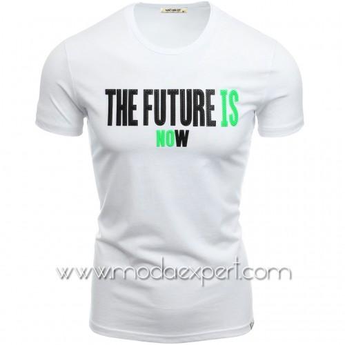Тениска The Future Is Now №14463-W