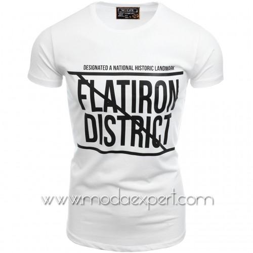 Мъжка тениска №14528-W