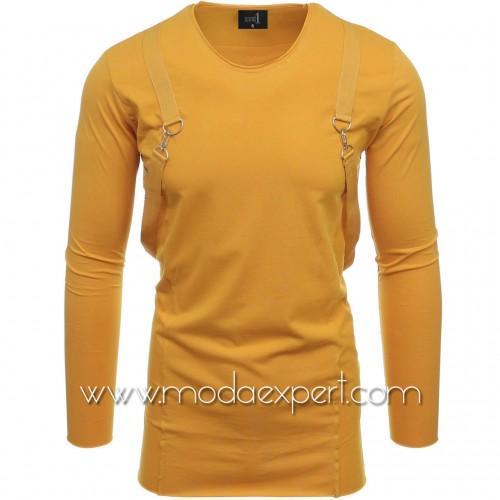 Блуза с тиранти №E2515-M