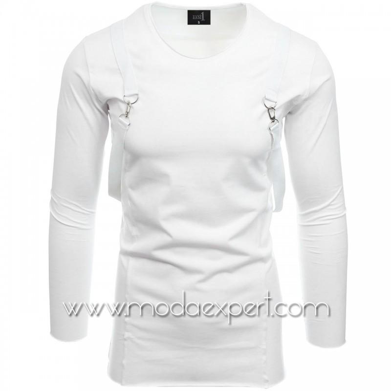 Блуза с тиранти №E2515-W