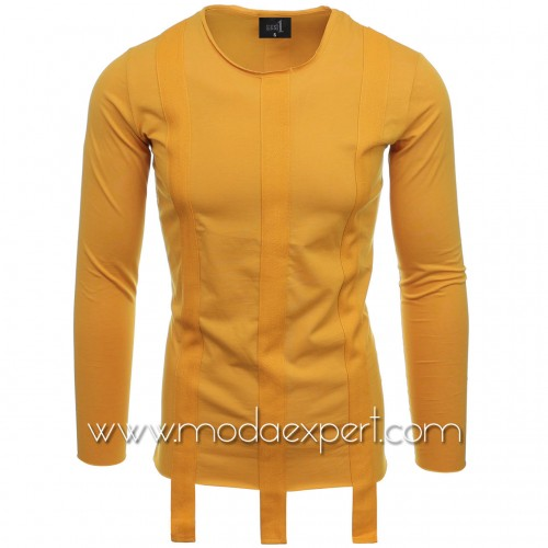 Блуза с декоративни ленти №E2511-M