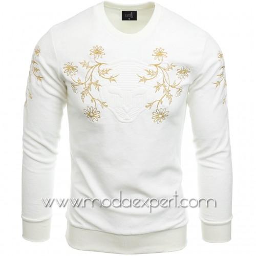 Мъжка блуза с бродерии №E2522-E