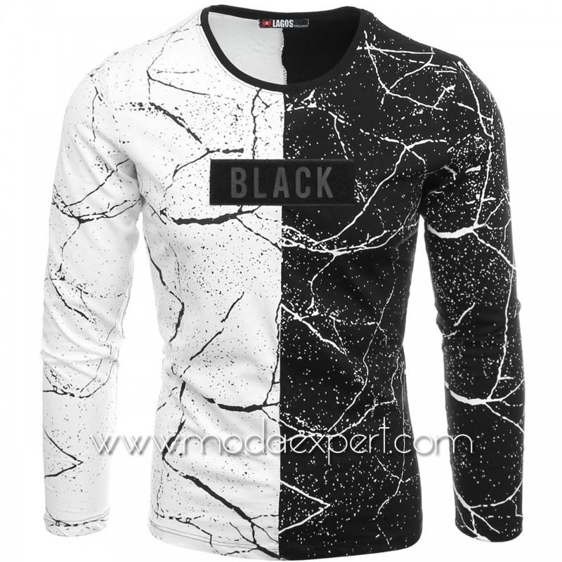 Мъжка блуза Black №L18959-1