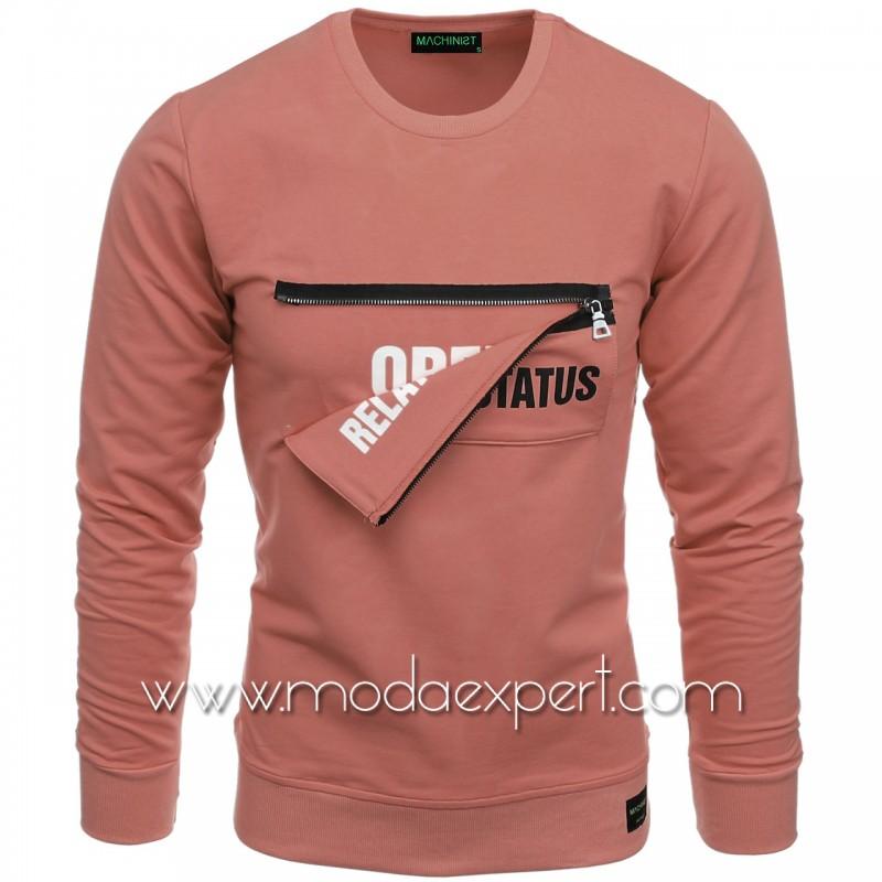Мъжка блуза със скрит надпис №M2103-P