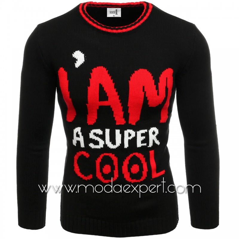 Мъжки пуловер COOL №E3590-B