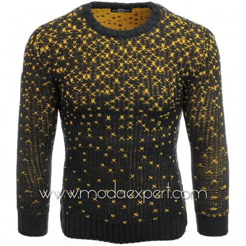 Ефектен мъжки пуловер №E3618-A