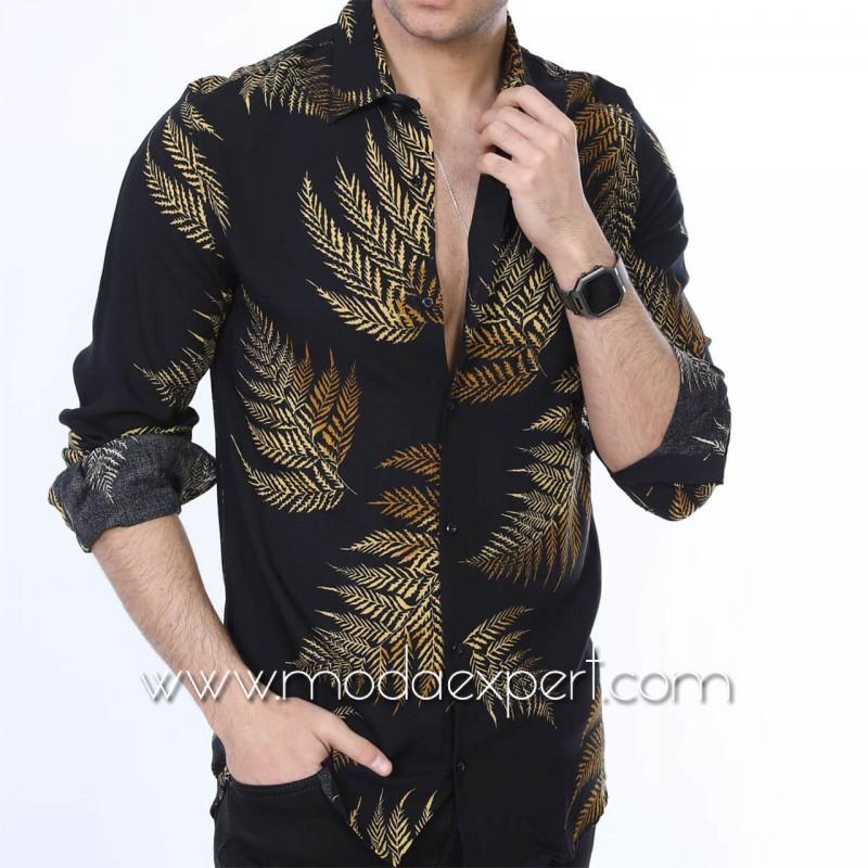 Мъжка риза №MR-6407-BG