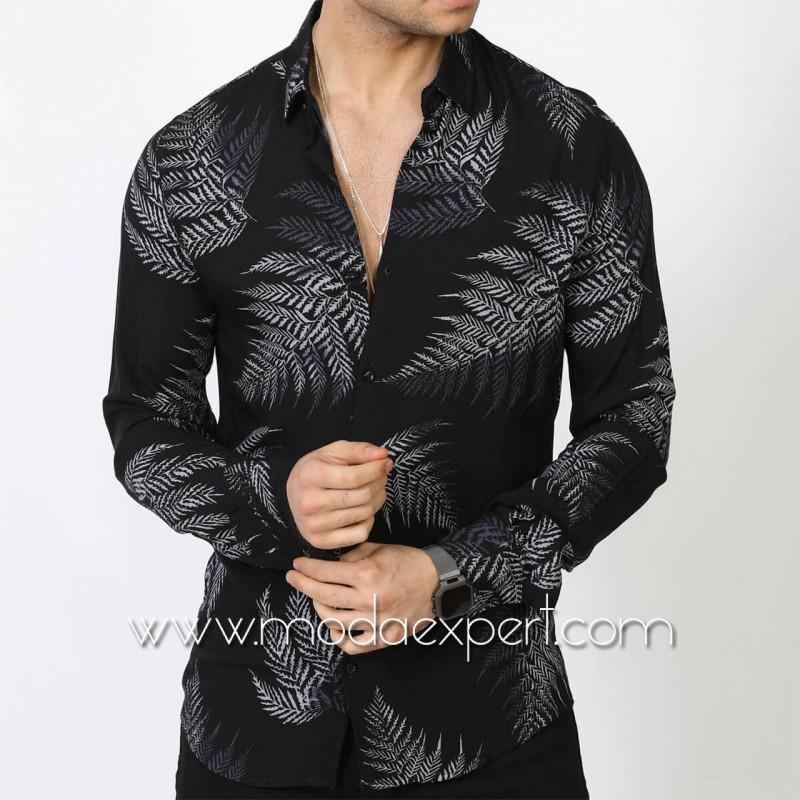Мъжка риза №MR-6407-BW