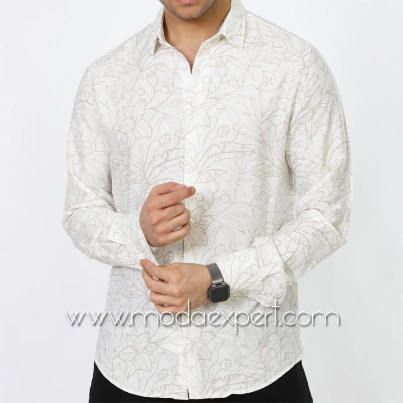 Мъжка риза №MR-6571-W