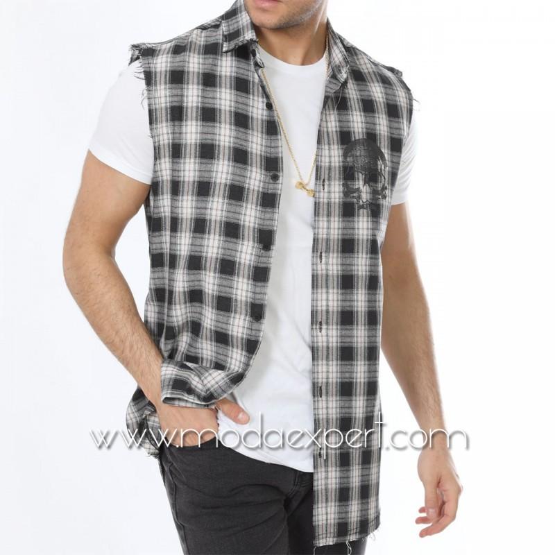 Комплект риза с тениска №MR-661-BW
