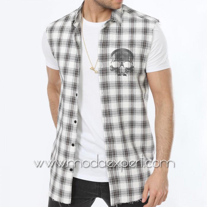 Комплект риза с тениска №MR-661-GW