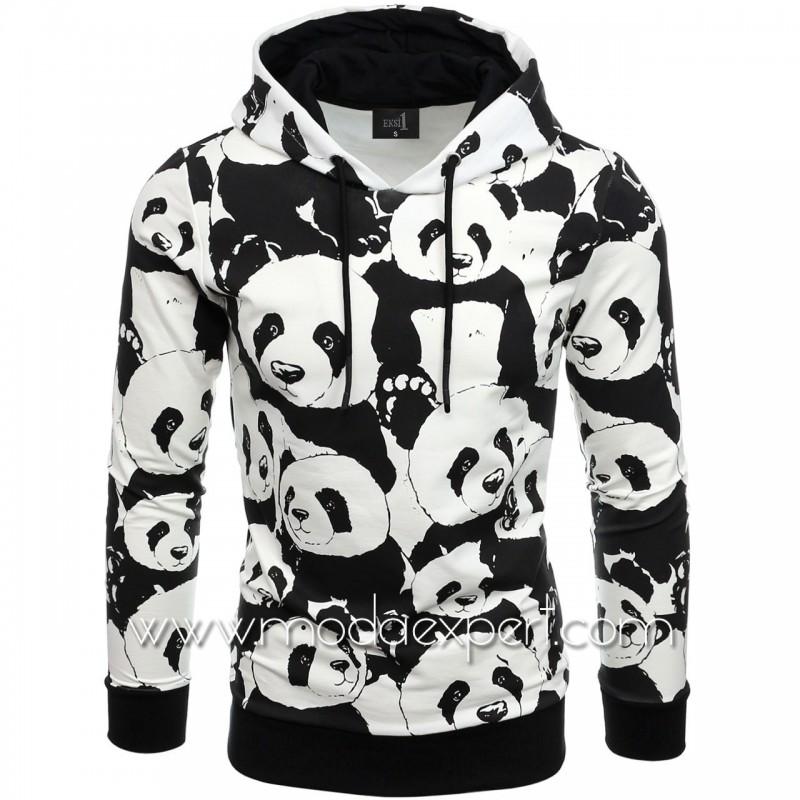 Мъжки суичър Panda №E2592