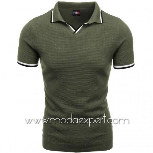 Мъжка тениска с яка №C6009-K