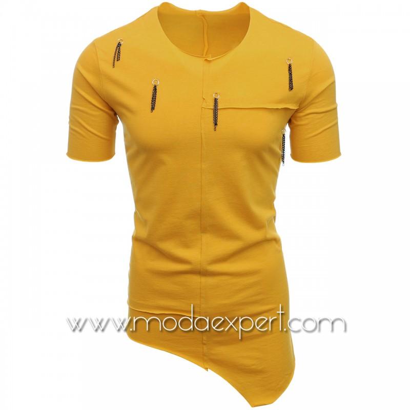 Асиметрична мъжка тениска №E115-M