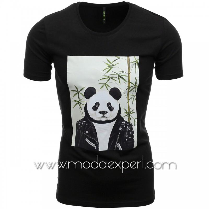 Мъжка тениска Panda №E186-B