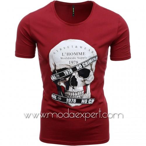 Мъжка тениска с щампа №E187-C