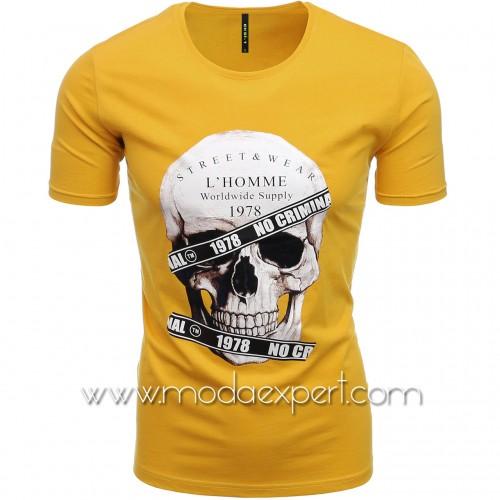 Мъжка тениска с щампа №E187-M