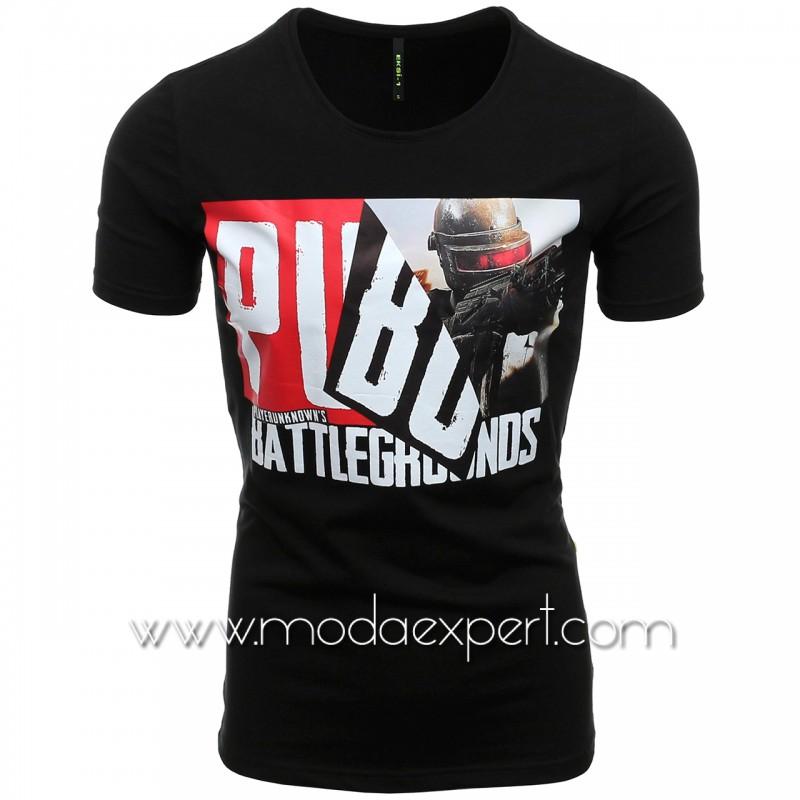 Мъжка тениска с щампа №E193-B