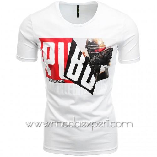 Мъжка тениска с щампа №E193-W