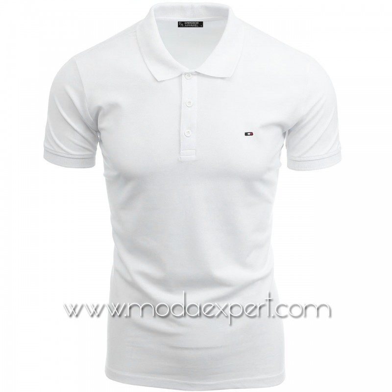 Мъжка тениска с яка №EA-W