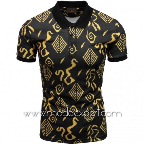 Мъжка тениска с яка №MR880-B