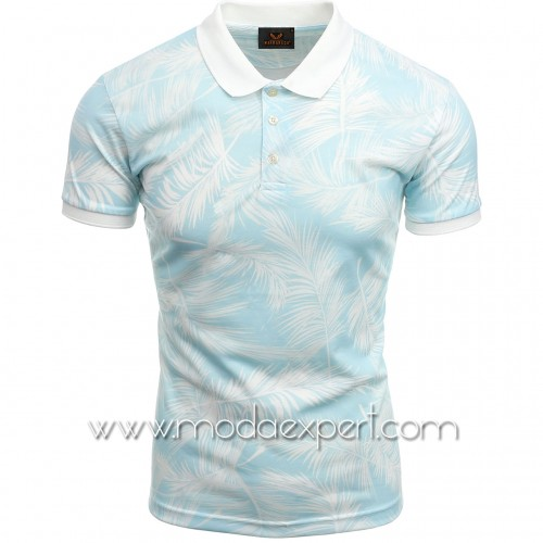 Мъжка тениска с яка №MR920-S